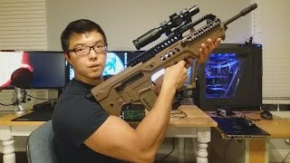 Download New IWI Tavor Bullpup 3-Gun Optics Setup: Manticore Arms Overwatch Rail and Primary Arms 1-6x Scope Video