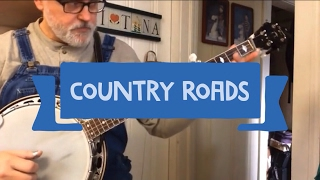 Download Country Roads - Walk Thru and Demo - Bluegrass Banjo Video