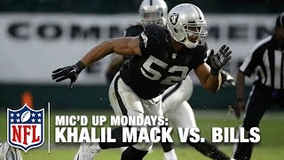 Download Khalil Mack Mic'd Up Leads Upset vs. Bills (Week 16, 2014) | #MicdUpMondays | NFL Video