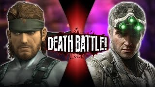 Download Solid Snake VS Sam Fisher (Metal Gear VS Splinter Cell) | DEATH BATTLE! Video