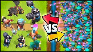 Download RASCALS vs ALL LEGENDARY CARDS - Clash Royale Highlights Video