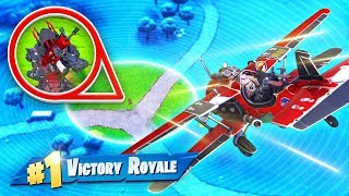 Download WINNING With *ONLY* the PLANE In Fortnite! Video