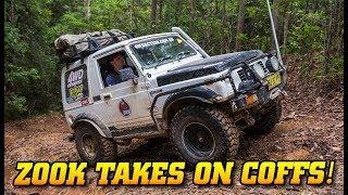 Download Suzuki Sierra does Coffs Tough Tracks - Insane recoveries and bush mechanic fixes Video