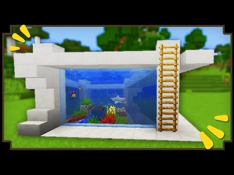 CARA MEMBUAT AQUARIUM - MINECRAFT INDONESIA