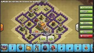 Download Base De Guerra th7-anti 3 estrellas Video
