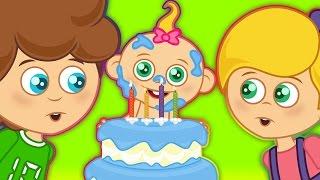 Download Doğum günü şarkısı İyiki Doğdun La la la - Sevimli Dostlar Çocuk Şarkıları 2016 Video