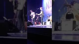 Download Sam Palladio & Chris Carmack - Heading for the Fire & Count On Me - Hammersmith London 19 June 2016 Video