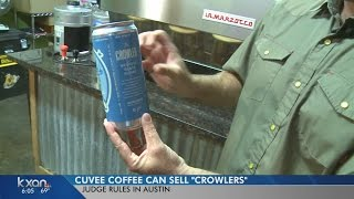 Download Judge says Texas bars, restaurants can fill and sell beer crowlers Video