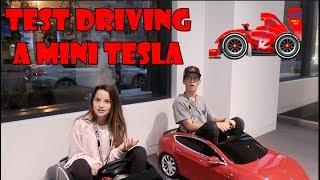 Download Test Driving a Mini Tesla 🏎 (WK 348.2) | Bratayley Video