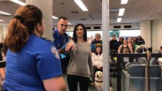 Download Airport security check; with guide dog Antonia! Video