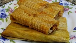 Download Chicken Tamales Red, Green Sauce, Cheese Tamales, Family Recipe! How to make tamales! Video