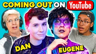 Download Generations React To Dan Howell & Eugene Lee Yang Coming Out On YouTube Video