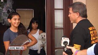 Download Girl Hiding in Closet Helps Cops Catch Burglars - Crime Watch Daily with Chris Hansen Video