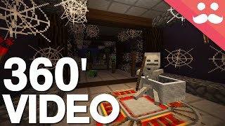Download Minecraft: The Haunted Redstone Corridor [4K 360 Video] Video
