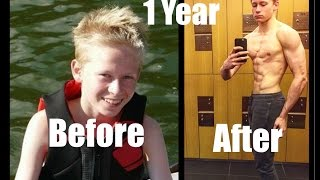 Download Wilhelm Lindfors Best 1 Year (15-16) Natural Body Transformation Video