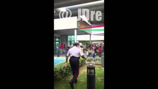 Download Fight at Norman Manley Airport in Kingston Jamaica Video