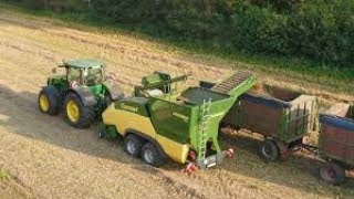 Download The First Pellet Harvester in The World : Krone PREMOS 5000 Video