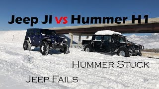 Download Jeep JL Rubicon vs Hummer H1 Video