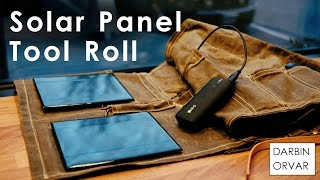 Download Portable Solar Panel Charging System for Tool Roll Video