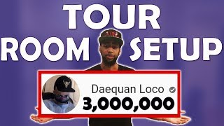 Download DAEQUAN ROOM TOUR & SETUP REVEAL | THANK YOU FOR 3,000,000 SUBSCRIBERS!!! Video