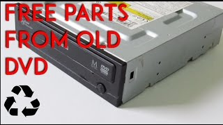 Download How to salvage a DVD Drive For Free Parts Video