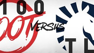 Download 100 vs. TL | Semifinals Game 1 | NA LCS Summer Playoffs | 100 Thieves vs. Team Liquid (2018) Video
