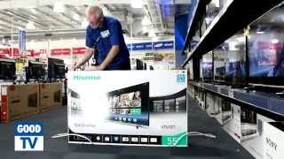 Download Unboxing Hisense 55 inch Smart TV – available at The Good Guys Video