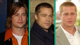 Download Brad Pitt's 'Hairvolution': A History of His Best and Worst Hairstyles Video