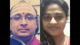 Download MalareMounama⚘ Beautiful melody 🎙singing By Swami Sir&Vidhuvivek posed by vidhyasagar Video