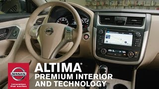Download 2016 Nissan Altima - Premium Interior and Technology Video