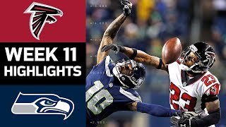 Download Falcons vs. Seahawks | NFL Week 11 Game Highlights Video