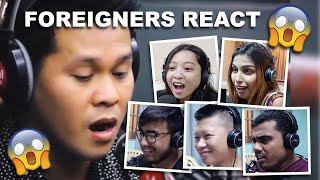 Download Foreigner's Reaction to The Prayer as performed by Marcelito Pomoy on Wish 107.5 Video