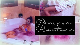 Download Pamper Routine 2016 // Spa Night Video
