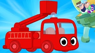 Download My Magic Fire Truck And The Glue Bandits! - My Magic Pet Morphle Truck and Vehicle Videos For Kids Video