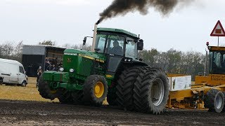Download John Deere 4955 Pulling The Heavy Sledge at Pulling Event in Sørup | Tractor Pulling Denmark 2017 Video