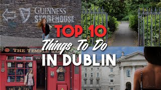 Download TOP 10 THINGS TO DO IN DUBLIN IRELAND Video