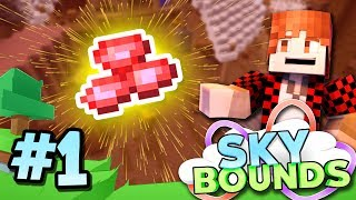 Download A NEW WORLD BEGINS..! - Skybounds Minecraft Skyblock #1 Video