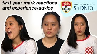 Download First year university mark reactions + experience/advice | University of Sydney commerce Video