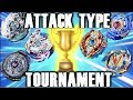Which is The Best Attack Type Beyblade? | Attack Type Beyblade Tournament