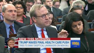 Download Trump makes final pitch for GOP health care bill Video