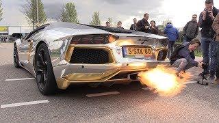 Download The BEST LAMBORGHINI AVENTADOR V12 Engine SOUNDS Ever!! Video