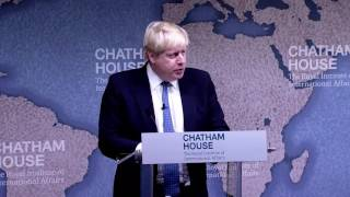 Download Boris Johnson on UK Foreign Policy in the Era of Brexit Video
