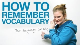 Download How to Remember Vocabulary Video