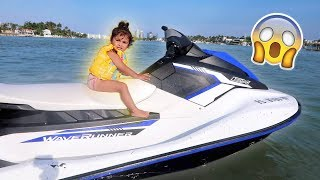 Download ELLE RIDES A JET SKI FOR THE FIRST TIME!!! (ONLY TWO-YEARS OLD) Video