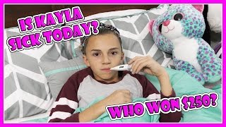 Download DOES KAYLA END UP SICK IN BED?   We Are The Davises Video