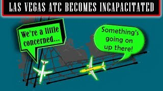 Download [REAL ATC] Las Vegas controller suffers a stroke while on duty. Video