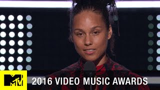 Download Alicia Keys Emotional Speech | 2016 Video Music Awards | MTV Video
