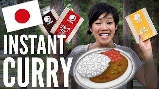 Download JAPANESE Instant CURRY TASTE TEST Video