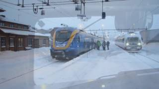 Download From Norway to Sweden by Train - January 2017 Video