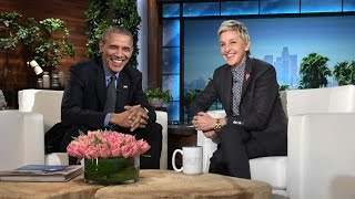 Download Ellen DeGeneres Pays Tribute to the Obama Family With Heartfelt Montage Video Video